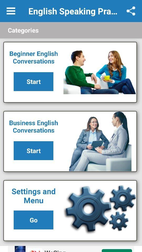 English Speaking Practice app