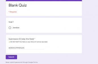 Membuat Ujian di Google Classroom